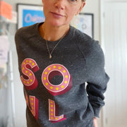 SOUL Rose & Grey Sweatshirt