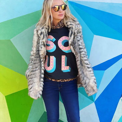 SOUL Sunset Grey Women's Fit Sweatshirt