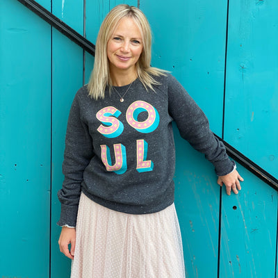 SOUL Sunset Grey Sweatshirt