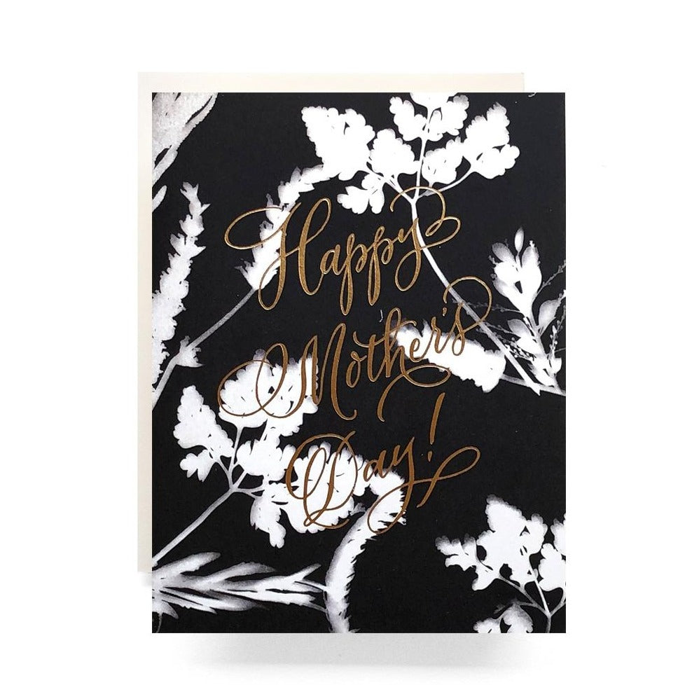 Sunprint Happy Mother's Day Greeting Card