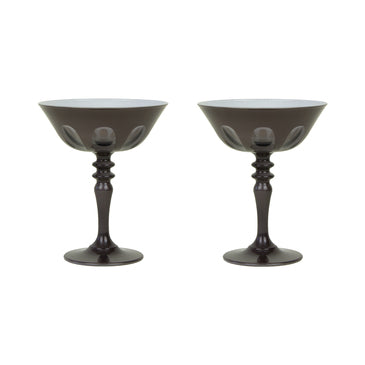 Coupe Glasses, Set of 2