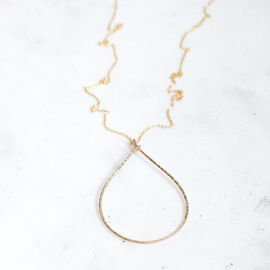 Long Oval Rebecca Necklace