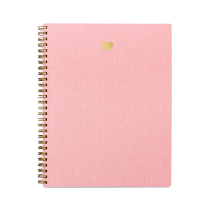 Special Edition Pink Heart Notebook by Appointed