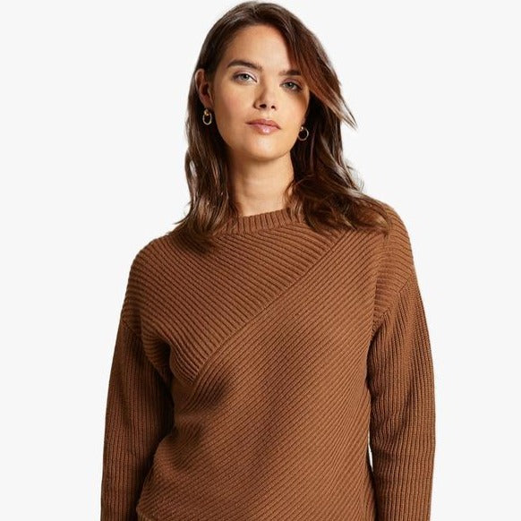 Angled Rib Sweater (multiple colors)
