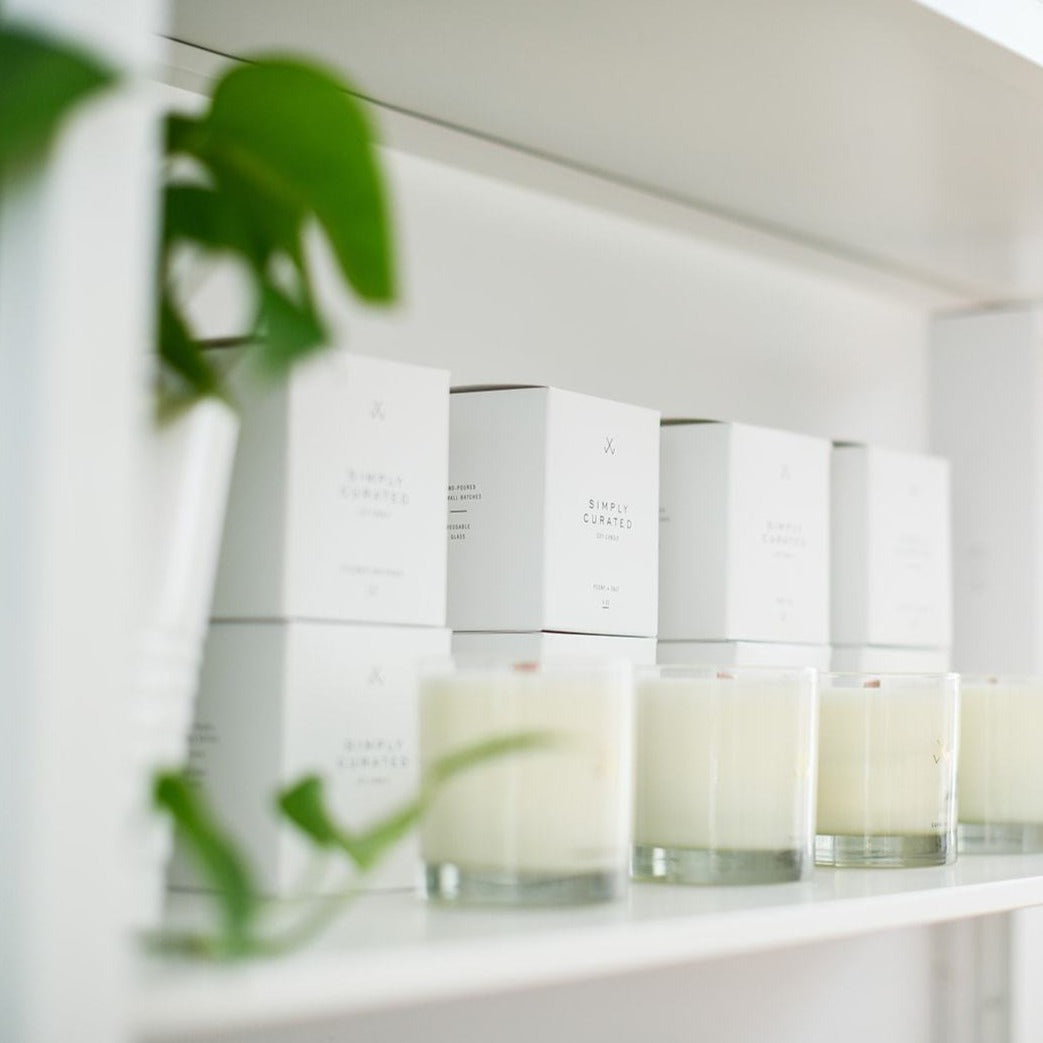 Signature Candle by Simply Curated