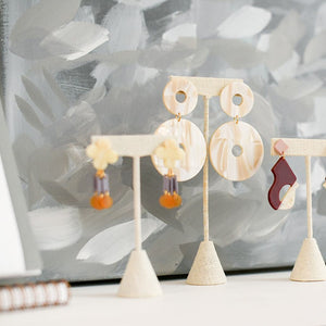 Kady Creme Earrings