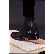 Load image into Gallery viewer, Phryné Boot (ash brown & black)