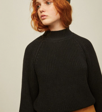 Load image into Gallery viewer, Matilda Sweater (Black & Chartreuse)