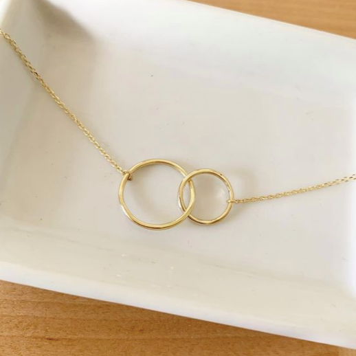 Infinity Circles Necklace