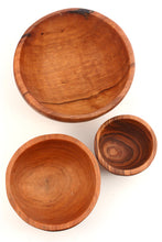 Load image into Gallery viewer, Set of Three Wild Olive Bowls