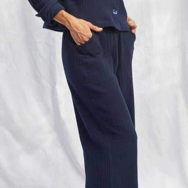 Cotton Double Gauze Tomales Pants
