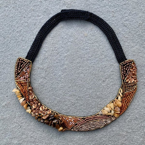 Adja Embroidered Necklace