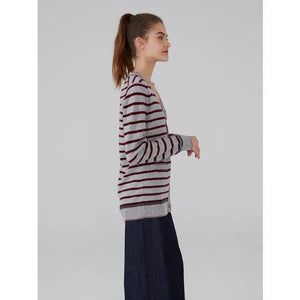 Striped Cardigan (multiple colors available)
