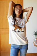 Load image into Gallery viewer, Tiger Tee (Ivory & Smoke)