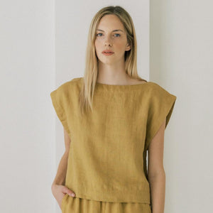Everyday Top in Turmeric