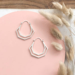 Hera Hoops (silver & gold)