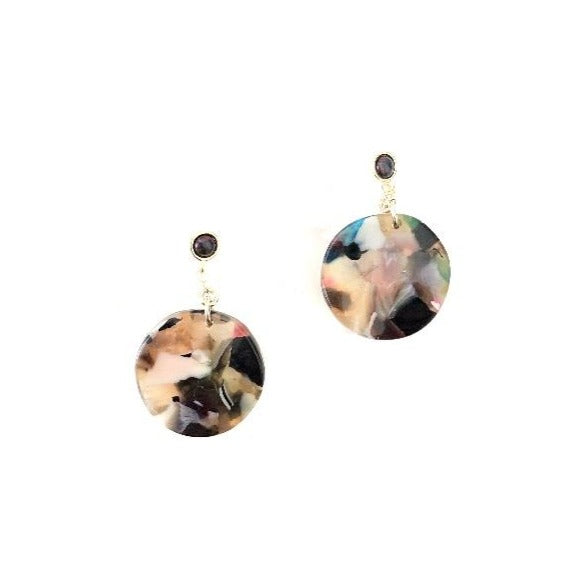 Cosmic Dot Earrings