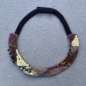 Mualla Embroidered Necklace
