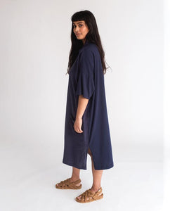 Natasha Linen & Cotton Dress (multiple colors)