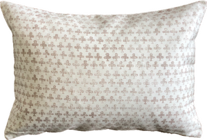Indian Clover Print Throw Pillow
