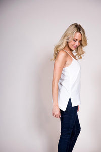 Cotton Cross-Back Camisole