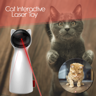 Cat Interactive Toy LED Laser