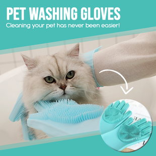 Pet Washing Gloves
