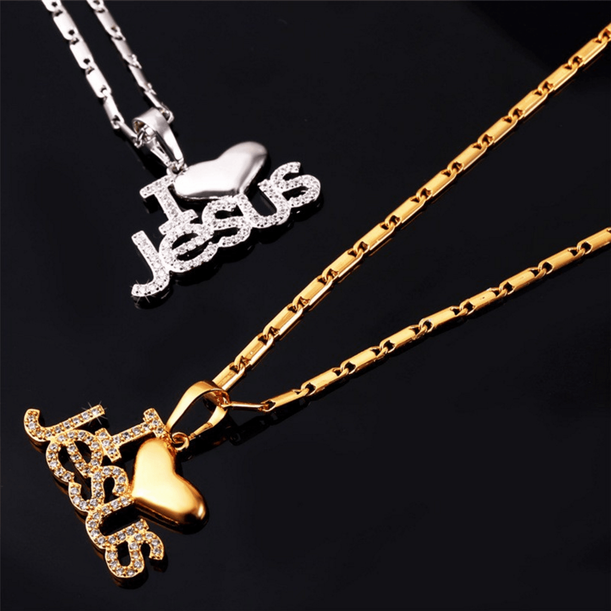 I Love Jesus Necklaces - Living Christian - 6