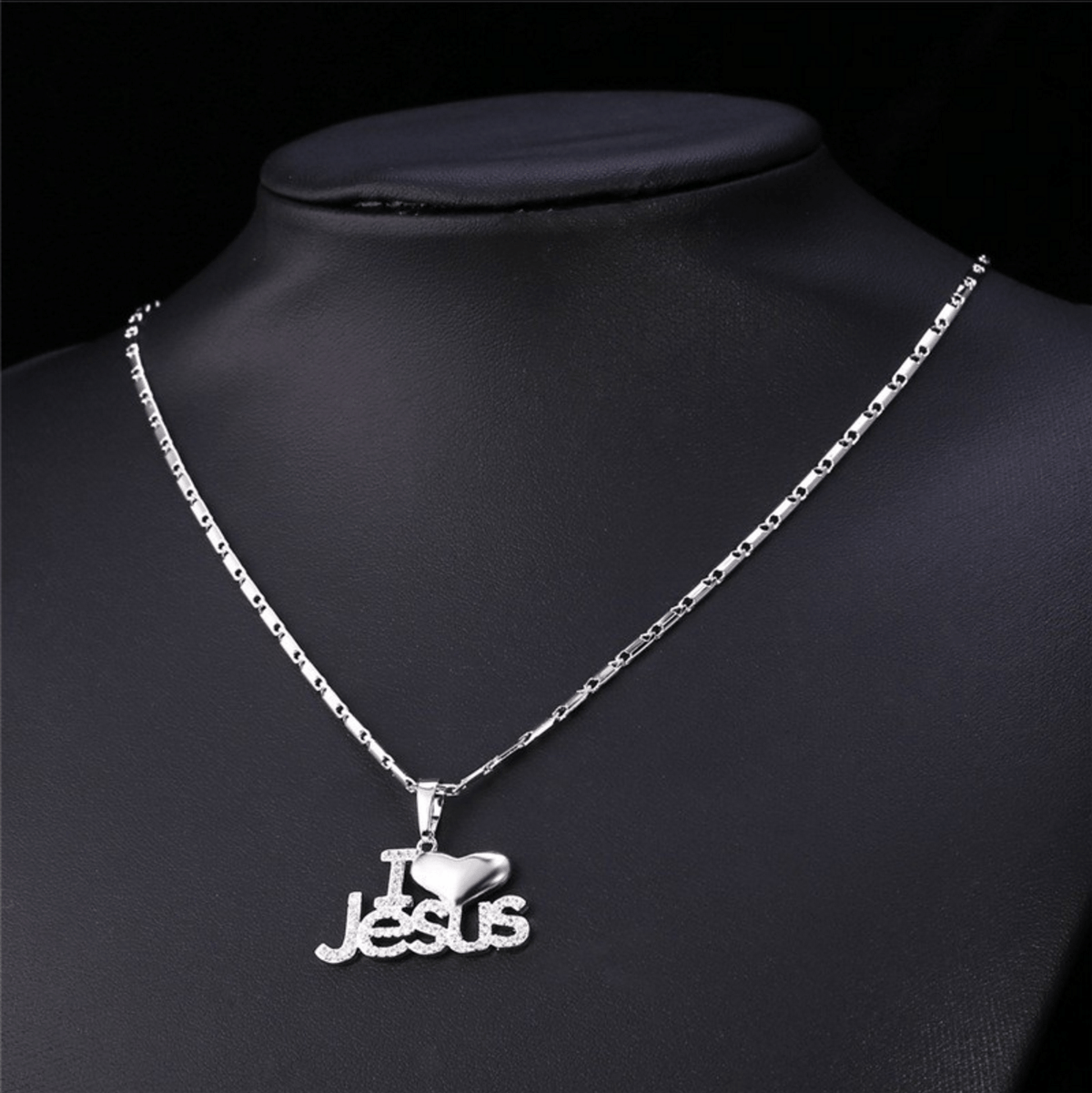 I Love Jesus Necklaces - Living Christian - 9