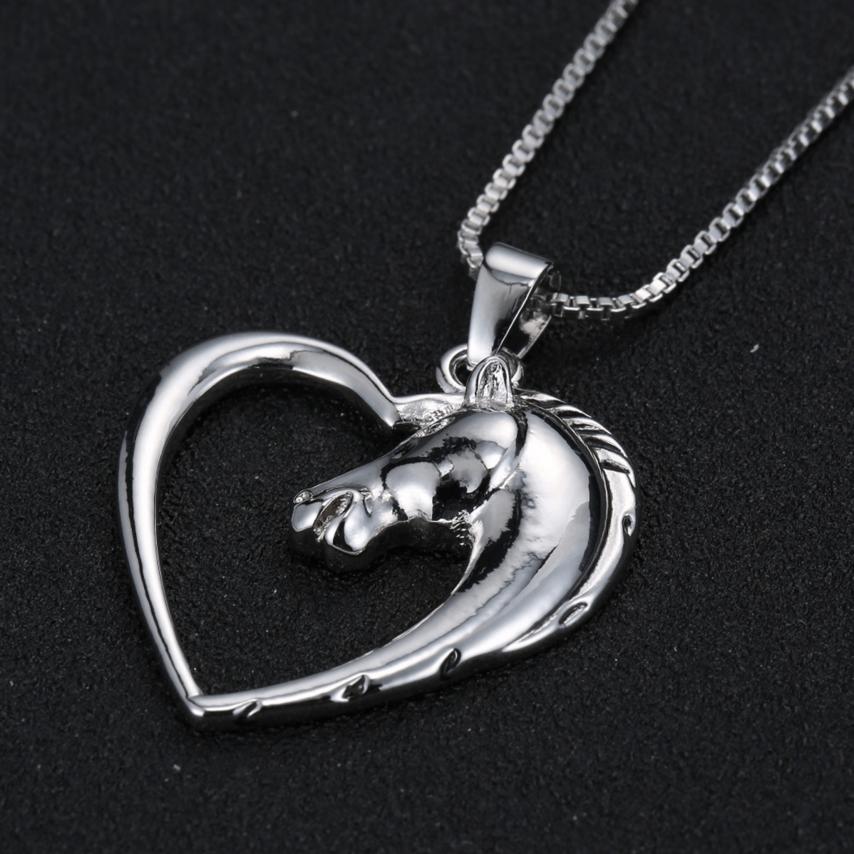 Horse In My Heart Necklace