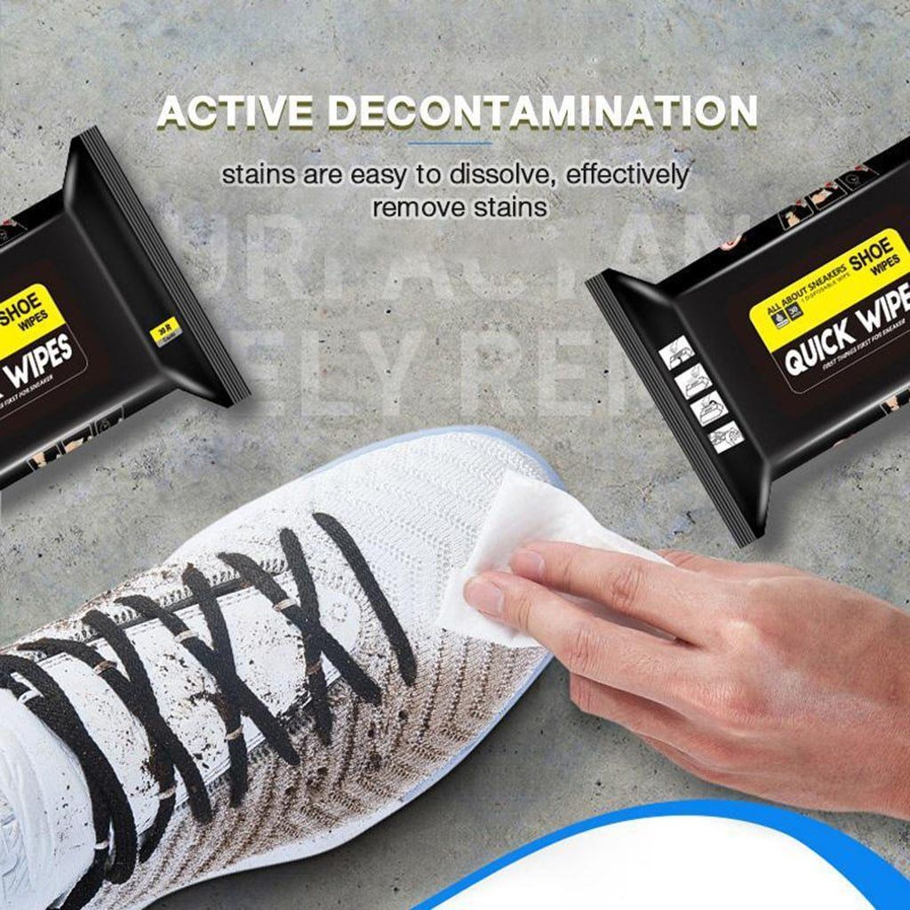 Ultra-Clean Shoes Wet Wipes