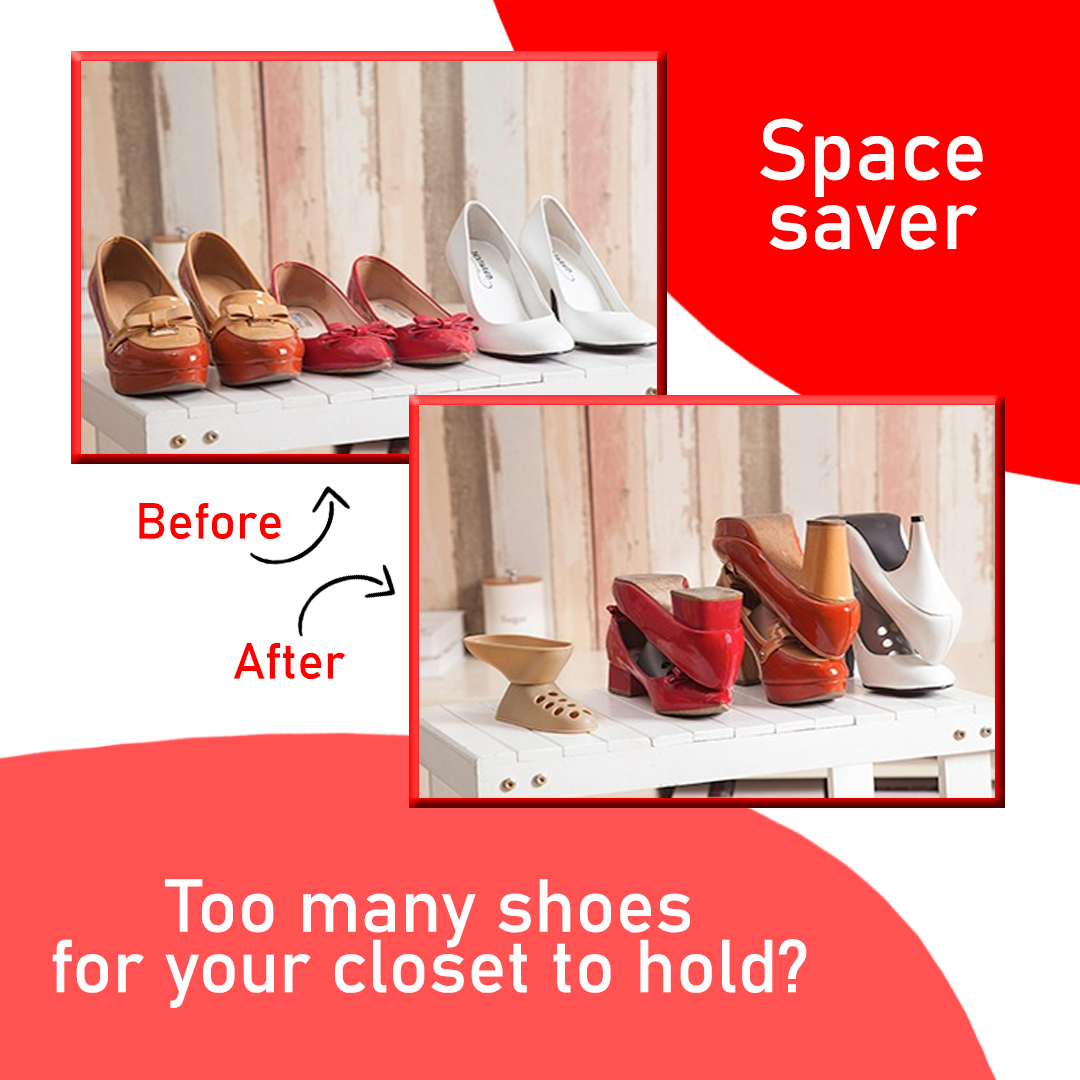 ShoeStor - Space Saving Shoe Storage Device