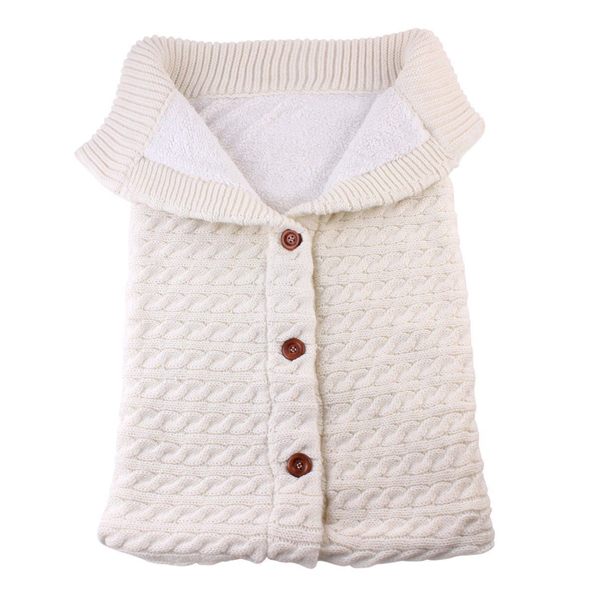 Newborn Baby Winter Swaddle Wrap