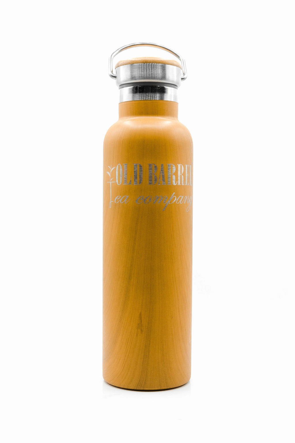 OBTC Bamboo Water Bottle Thermos