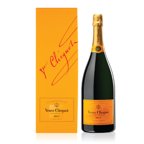 VEUVE CLICQUOT YELLOW LABEL 150CL WITH GIFTBOX