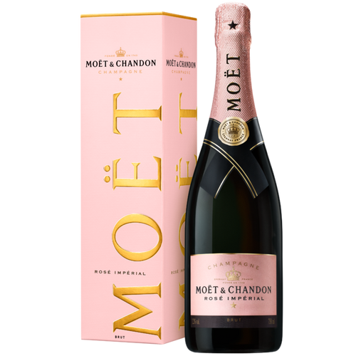 MOËT & CHANDON ROSÉ IMPÉRIAL WITH GIFT BOX 75CL