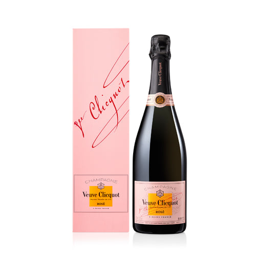 VEUVE CLICQUOT ROSÉ WITH GIFT BOX 75CL