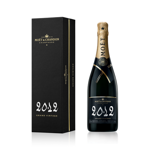 MOËT & CHANDON GRAND VINTAGE 2012 WITH GIFT BOX 75CL