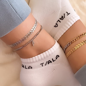 Grand Duo Chain Anklet