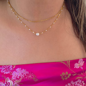 Mermaid Pearl Choker
