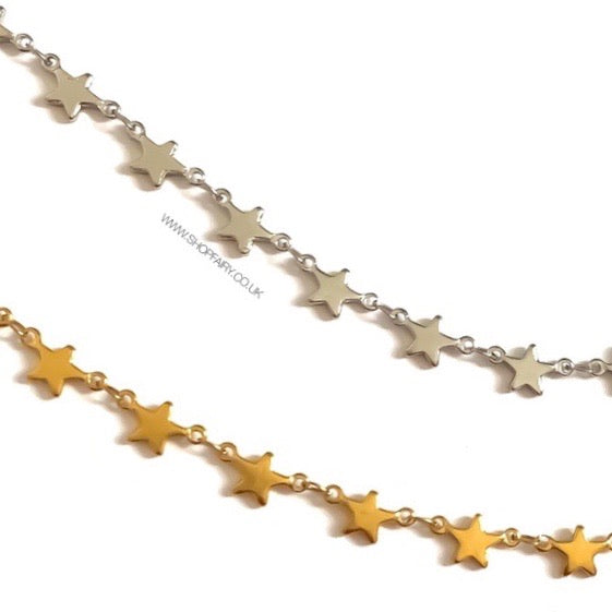 Shooting Stars Anklet