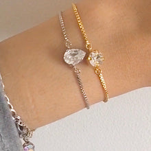 Load image into Gallery viewer, Adjustable Crystal Bracelet