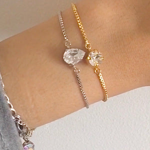 Adjustable Crystal Bracelet