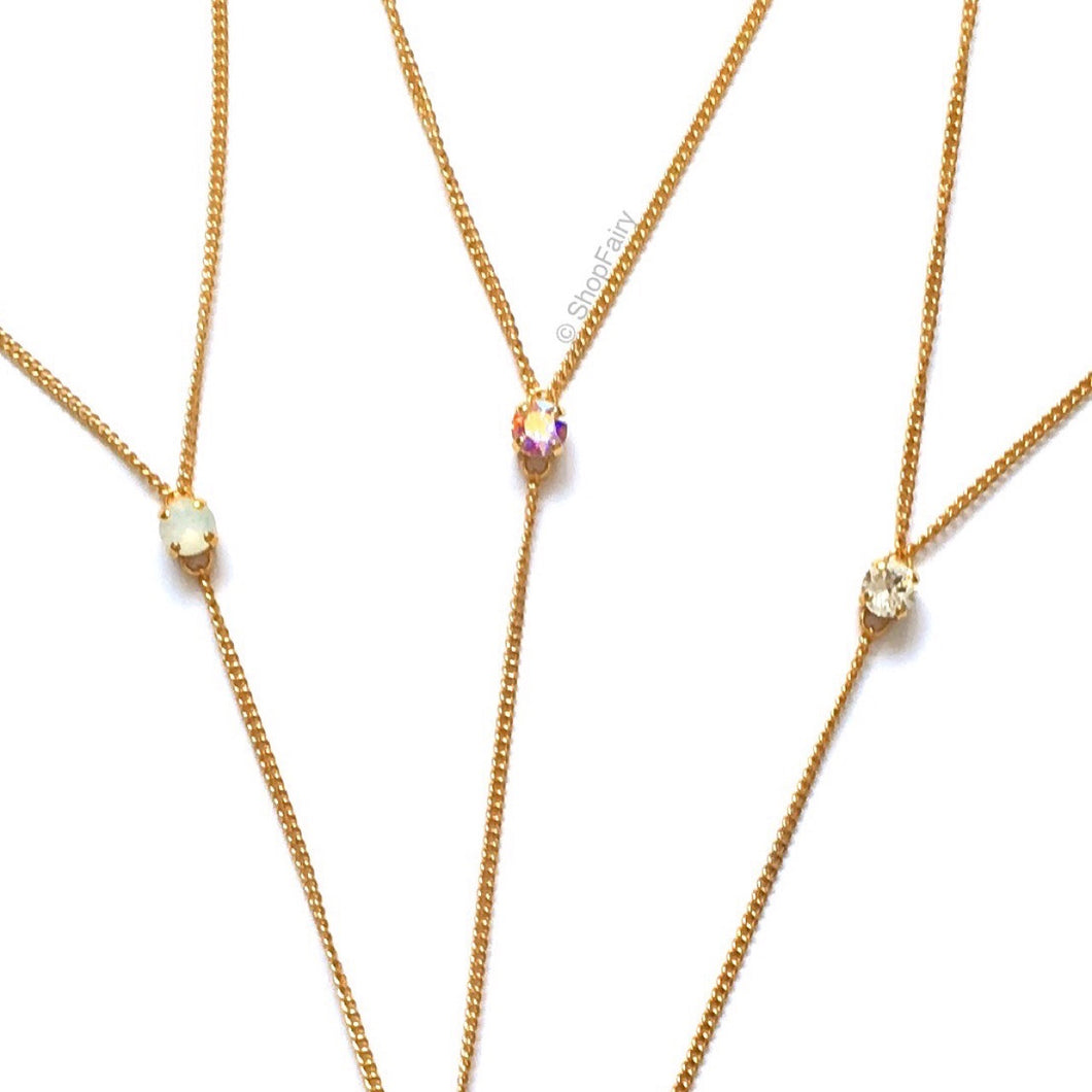 Crystal Twinkle Lariat