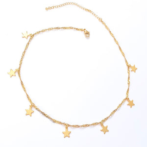 Lustre Star Necklace