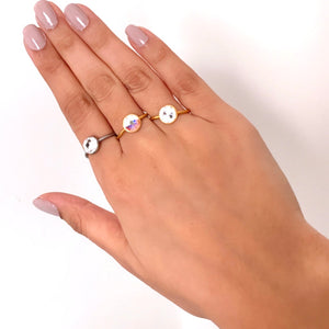 Crystal Light Ring