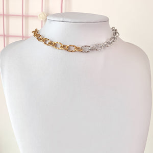 Glimmer Duo Chain Necklace