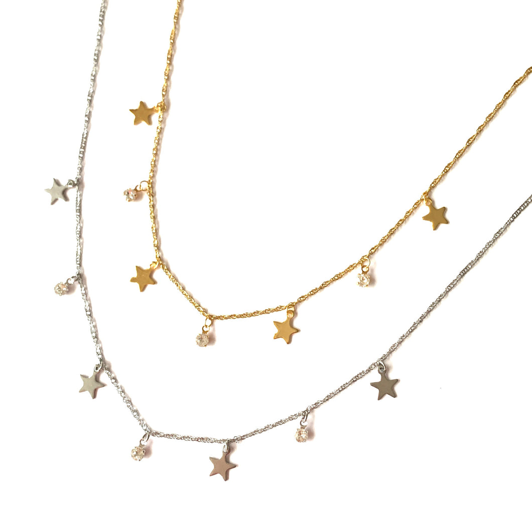 Light and Stars Necklace
