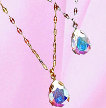 Load image into Gallery viewer, Crystal Pear Necklace