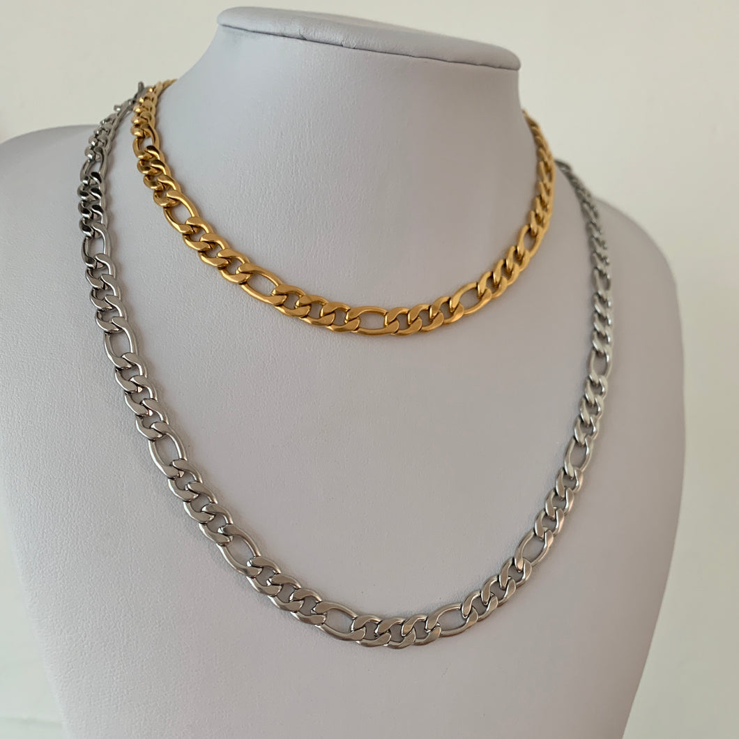 Unisex Grand Figaro Chain